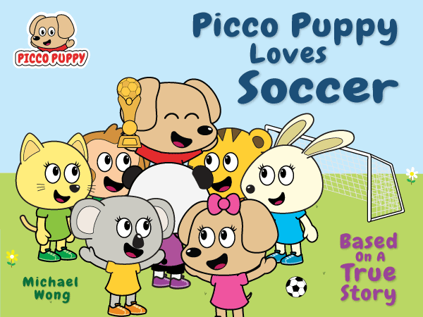Picco Puppy Loves Soccer book cover